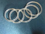 Протекторное термокольцо для натяжных потолков - диаметр 300 мм (наружный 316мм), фото 5