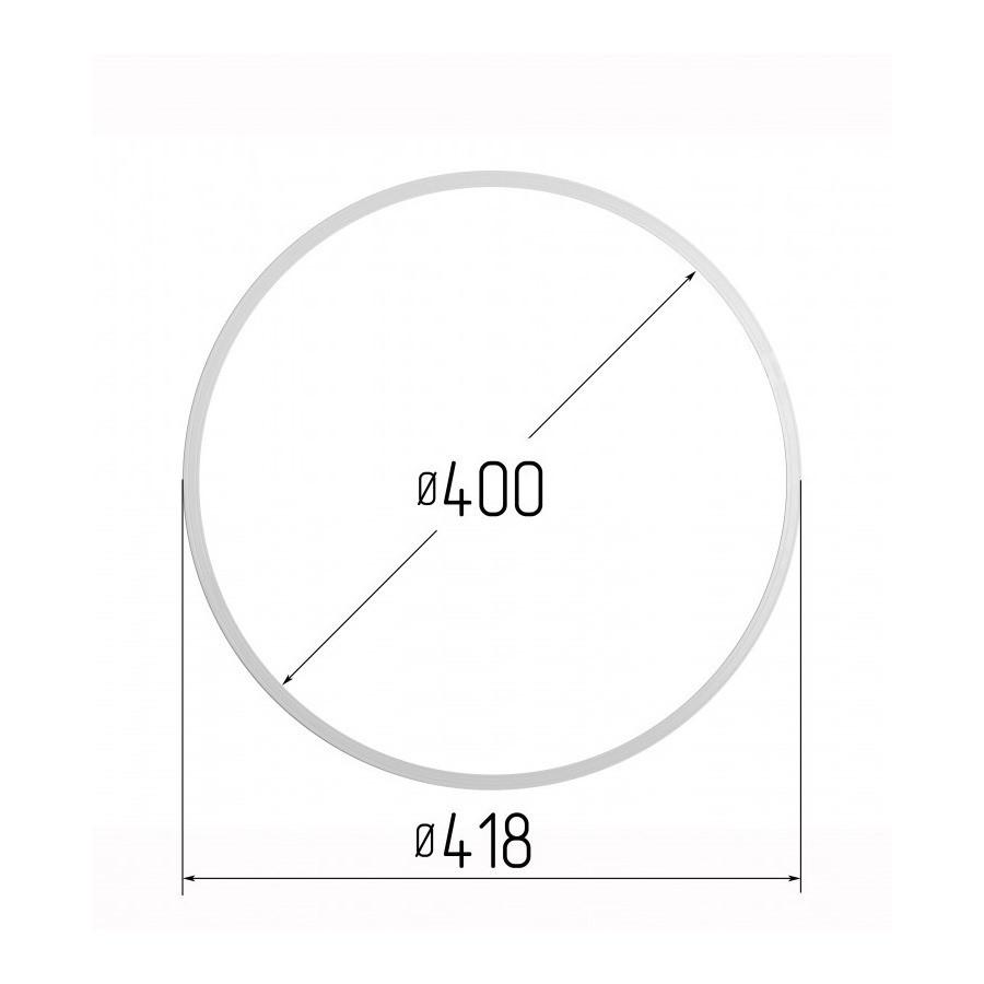 Протекторна термокільце для натяжних стель - діаметр 400 мм (зовнішній 418мм)