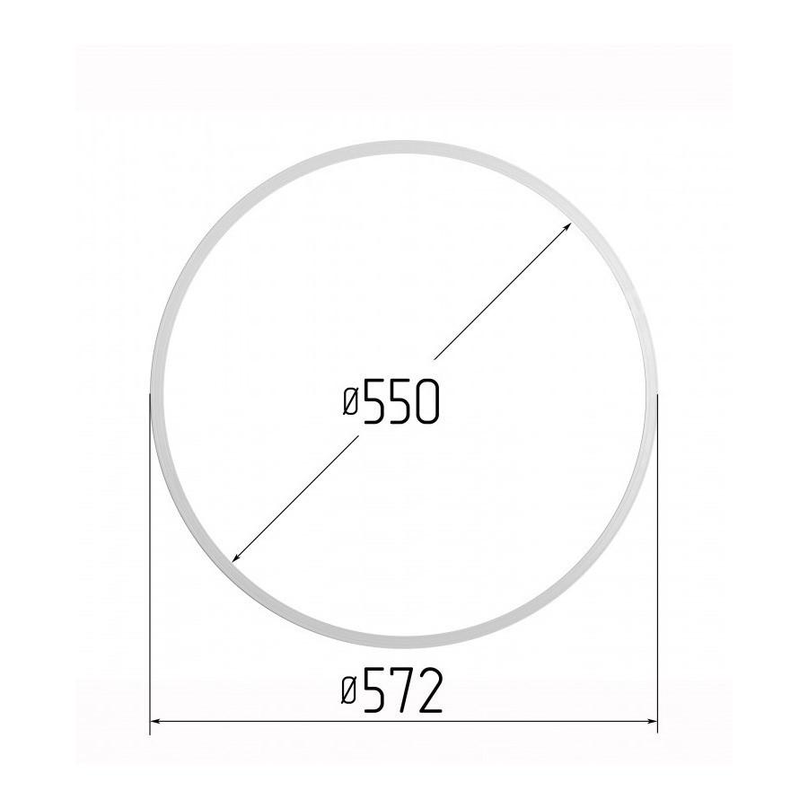 Протекторное термокольцо диаметр 550 мм (наружный 572мм)