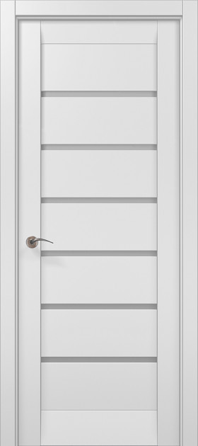 Дверное полотно 2000х710х40 Папа Карло Millenium ML-14 Белый мат