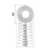Платформа универсальная для встроенных светильников диаметром 60-120 мм (шаг 10 мм) для монтажа натяжных