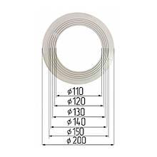 Платформа универсальная для встроенных светильников диаметром 110-150 мм (шаг 10 мм) для монтажа натяжных