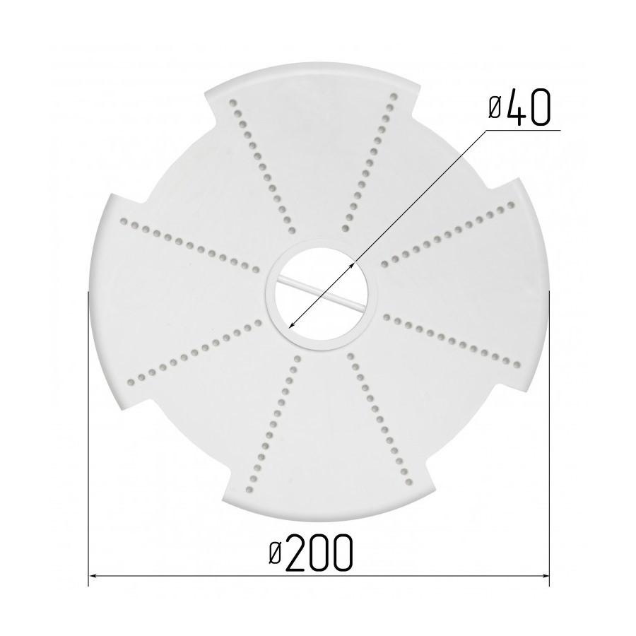 Платформа під люстру № 3 для натяжних стель (Діаметр 200 мм)