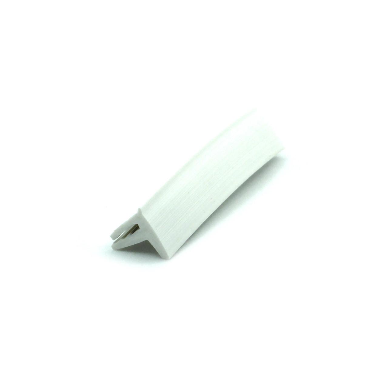 Вставка заглушка декоративная для натяжного потолка №1 (ширина 10 мм, матовая, 2 зуба)