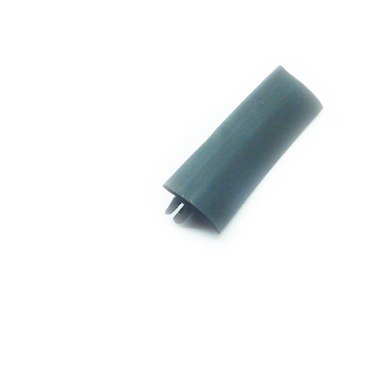 Вставка заглушка декоративная для натяжного потолка черная (ширина 9 мм, матовая, 2 зуба)