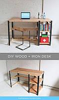 Письменный/Офисный стол в стиле LOFT  (Office Table - 016)