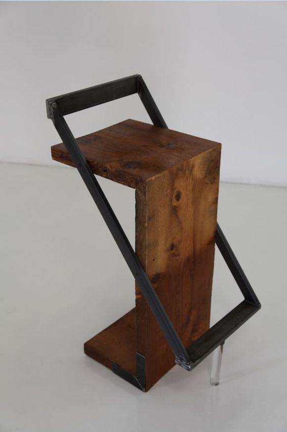 Барный стул в стиле LOFT (Bar Stool - 07)