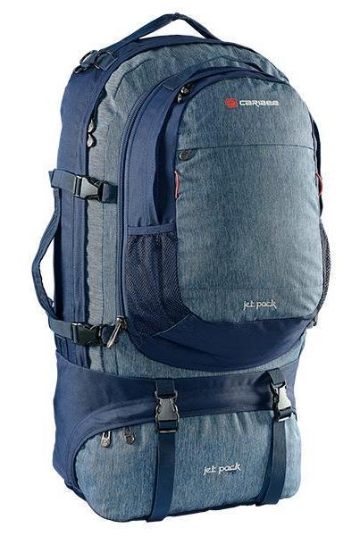 Рюкзак туристичний Caribee Jet pack 65 Navy, 926980, синій