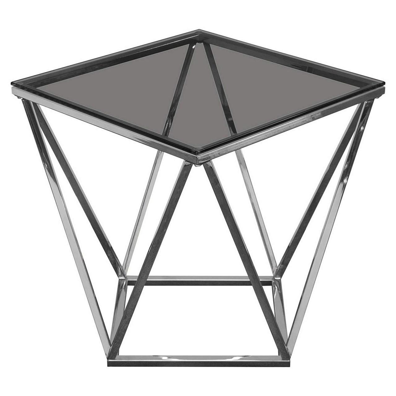 Кофейный Журнальный столик в стиле LOFT (Table - 415)
