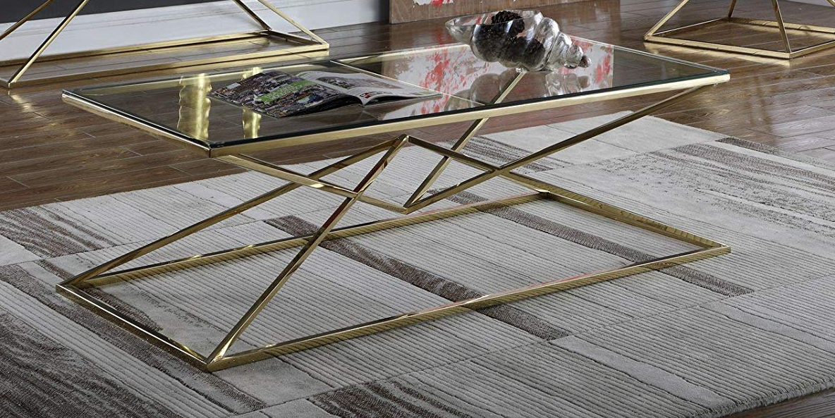 Кофейный Журнальный столик в стиле LOFT (Table - 428)