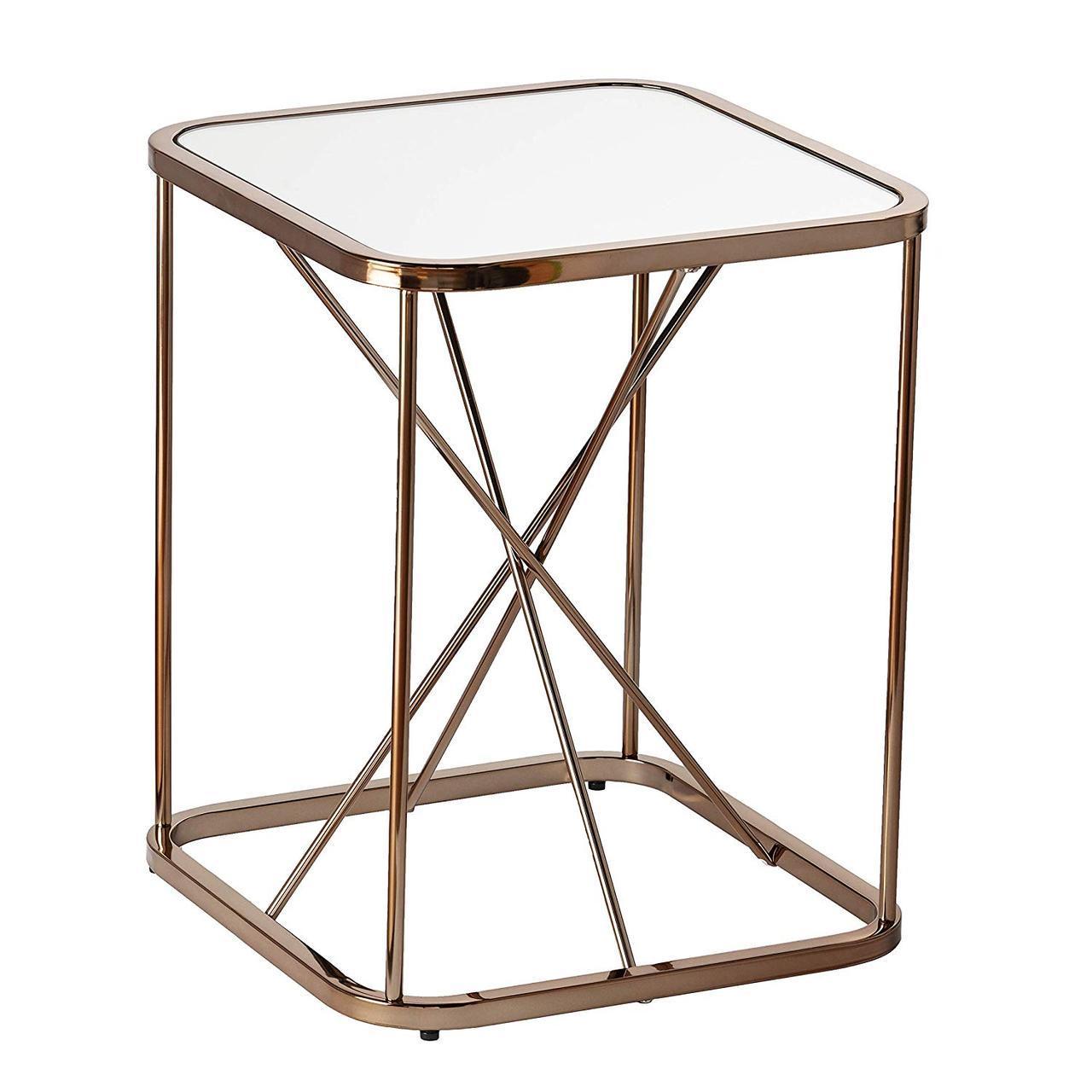 Кофейный Журнальный столик в стиле LOFT (Table - 436)