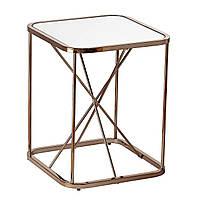 Кофейный Журнальный столик в стиле LOFT (Table - 436), фото 1