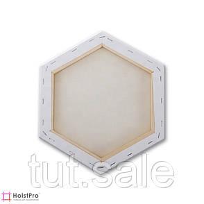 """Холст фигурный, """"Шестиугольник"""" 20х17 см, фото 2"""
