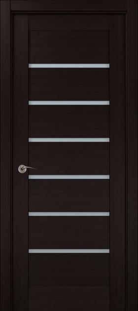 Дверное полотно 2000х610х40 Папа Карло Millenium ML-14 Венге