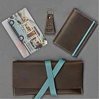 Набор путешественника Флоренция. Тревел-кейс, обложка для паспорта,  брелок, открытка