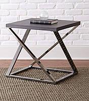 Кофейный Журнальный столик в стиле LOFT (Table - 457)