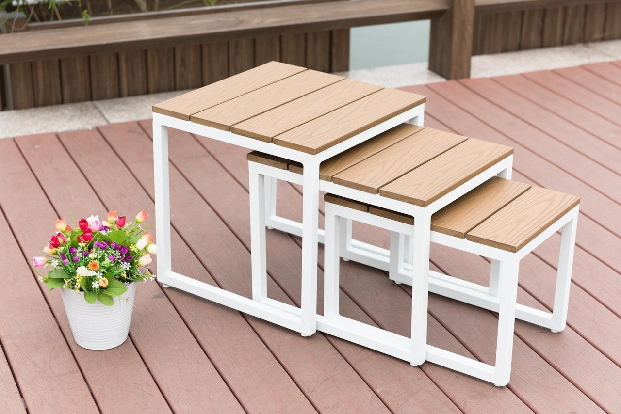 Комплект Журнальных столиков в стиле LOFT (Table - 495)