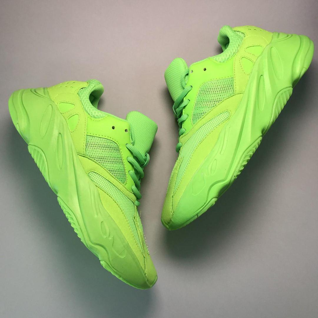 low priced a9804 e3a23 Мужские кроссовки Adidas Yeezy Boost 700 Green Neon - Bigl.ua