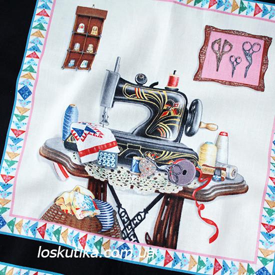 32007 Шитье и рукоделие (купон). Ткань американский хлопок. Текстиль для шитья и декорирования.