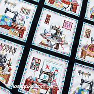 32007 Шитье и рукоделие (купон). Ткань американский хлопок. Текстиль для шитья и декорирования., фото 3