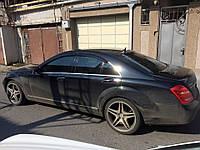 Дефлекторы окон (ветровики) Mercedes Benz S-klasse (W221) 2005-2013