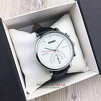 Оригинальные наручные Часы Skmei серебро с белым циферблатом (08100)