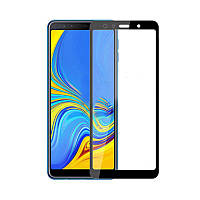 3D стекло для Samsung Galaxy A7 2018 Black - Full Cover