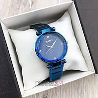 Женские наручные Часы Skmei синие с синим циферблатом (08111), фото 1