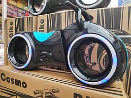 Толокар Космо-Байк-трон с Led подсветкой, Bluetooth и Динамиками, синий