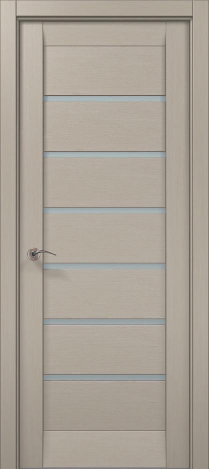 Дверное полотно 2000х810х40 Папа Карло Millenium ML-14 Дуб кремовый