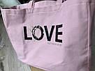 💋 Victoria's Secret Сумка Пляжная с Пайетками Love Bag, фото 8