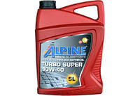 Масло моторное Alpine Turbo Super 10W-40 5л, 20л, 60л,