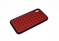 Чехол для Apple iPhone Xr Diamond Красный