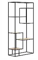 Навесная - Настенная Полка в стиле LOFT  (Wall Shelf - 04)