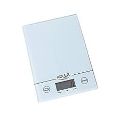 Кухонные весы электронные Adler AD 3138 w