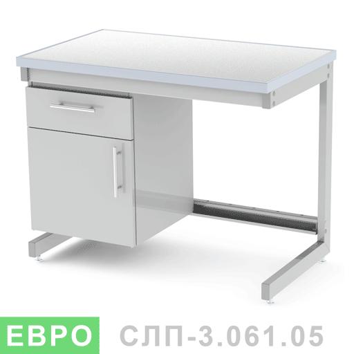Стол лабораторный пристенный СЛП-3.061.05
