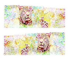 """Наклейки для ногтей """"Леопардовые"""" YZW-1477"""