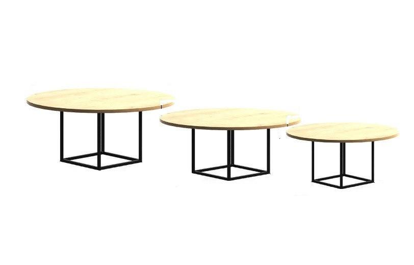 Кофейный Журнальный столик в стиле LOFT (Table - 408)