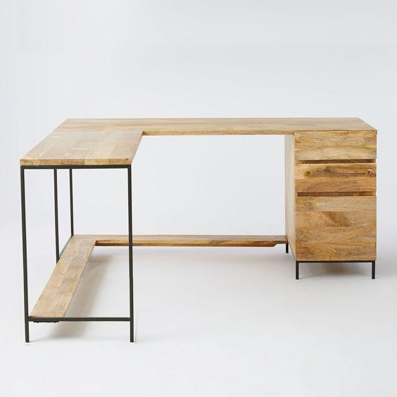 Письменный/Офисный стол в стиле LOFT  (Office Table - 025)