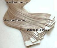 Натуральные волосы для ленточного наращивания 52 см. Оттенок №20А.