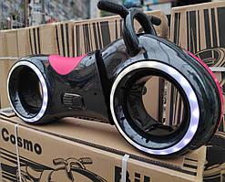 Толокар Космо - Байк - трон с Led подсветкой, Bluetooth и Динамиками красный