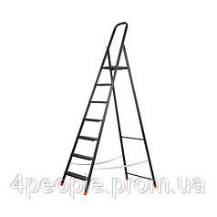 Стремянка Dnipro-M сталь 7 ст