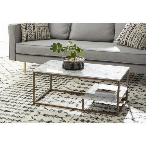 Кофейный Журнальный столик в стиле LOFT (Table - 491)