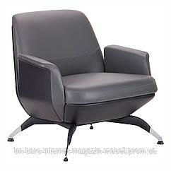 Кресло Absolute Grey/Black (Абсолют), серый/черный