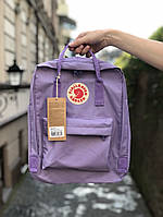 Рюкзак Fjallraven Kanken Classic (violet), рюкзак Канкен, фиолетовый портфель канкен