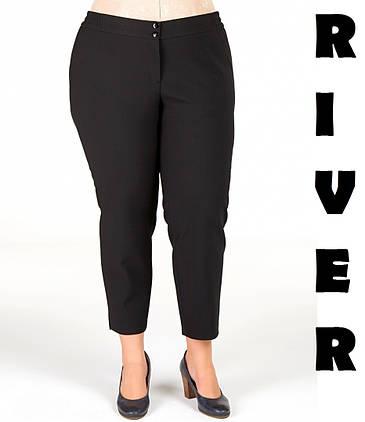 Ультромодные укороченные зауженные женские брюки с 48 по 82 размер, фото 2