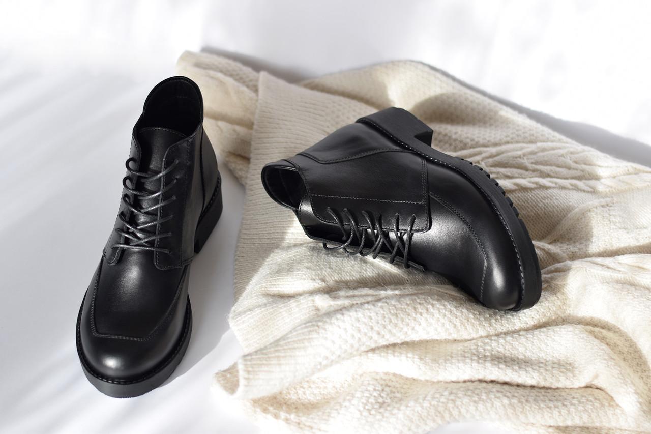 Классические кожаные ботинки Atomio Lardini