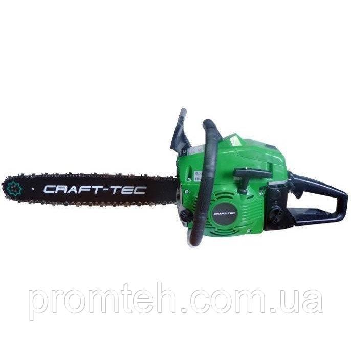 Бензопила Craft-tec CT-4000 (Комплект 2 шины, 2 цепи)