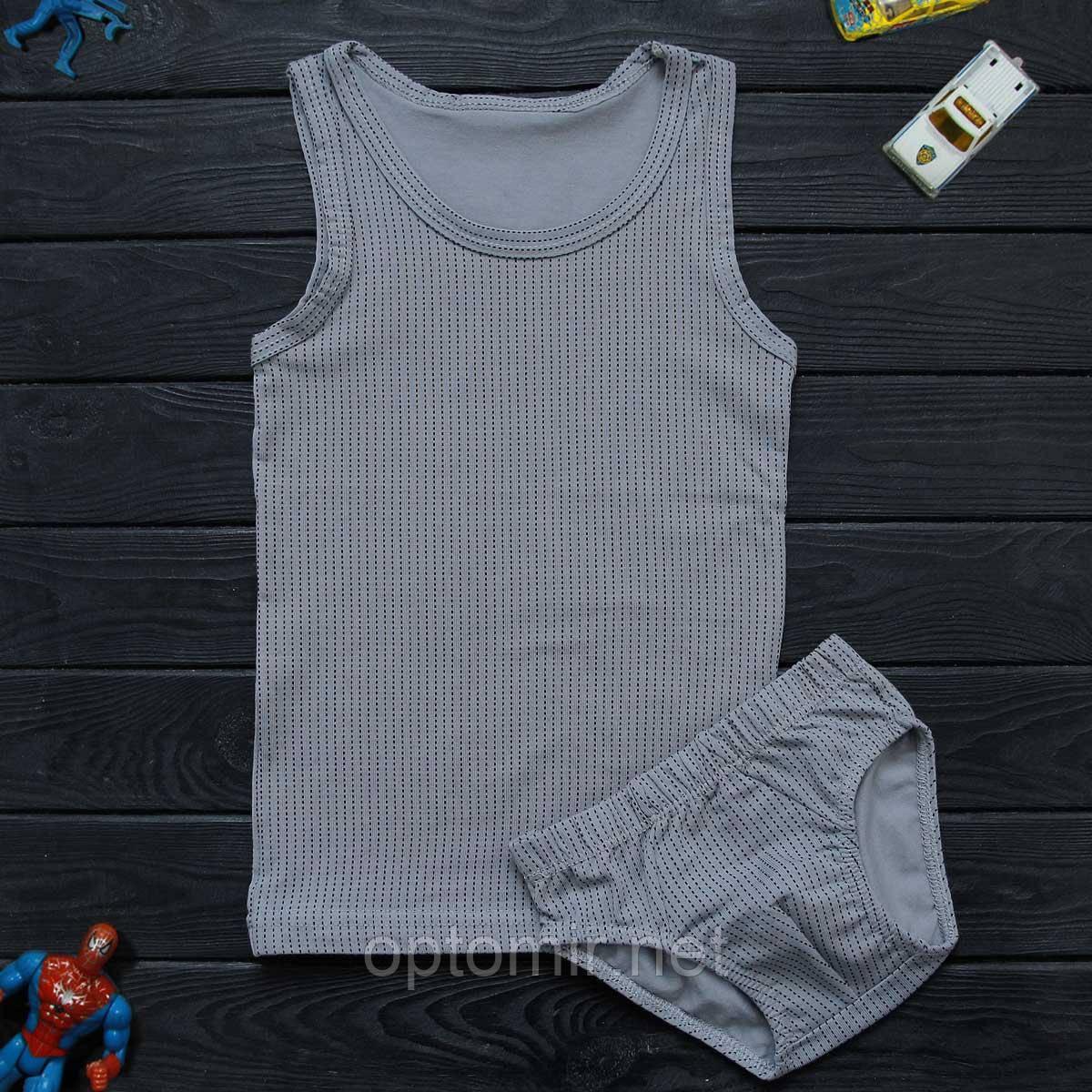 Комплект детский Donella серый для мальчика на 8/9 лет | 1шт.