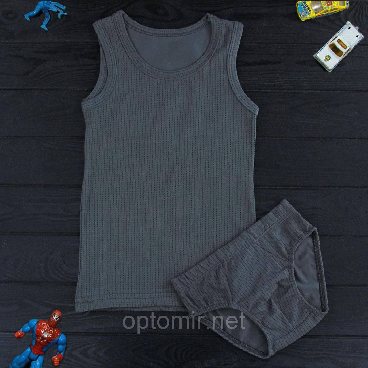 Комплект детский Donella темно-серый для мальчика на 8/9 лет | 1шт.